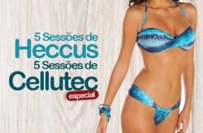 Modele seu corpo: 5 Sessões de Heccus + 5 Cellutec
