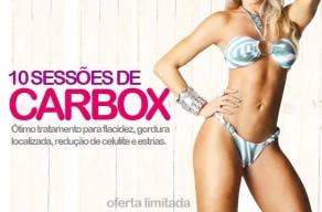 10 Sessões de Carbox para acabar com a Celulite e Flacidez de R$900 por apenas R$89,00
