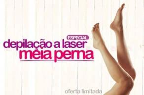 Imperdível: 3 Sessões de Depilação a Laser para Meia-Perna por apenas R$69,00 no Felicity