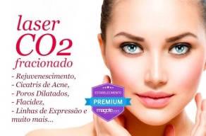 Aplicação de Laser CO2 Fracionado: Última novidade da Estética no que diz respeito a rejuvenescimento da pele.