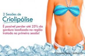 Só Hoje: 2 Sessões de Criolipólise - A máquina que Congela Gordura por apenas R$289,00 em até 12 vezes