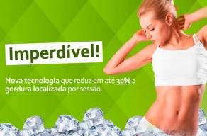 Semana Imperdível: 2 Criolipólise + 2 Dreno Modeladora Local. Nova tecnologia que reduz em até 30% a gordura localizada por sessão. Quantidade Limitada!
