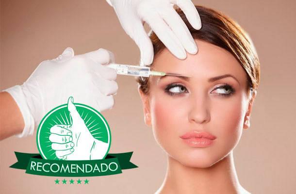 Recomendado: Aplicação de 20ui de Toxina Botulínica na testa, região dos olhos e glabela em 3 Vezes sem Juros em Moema. Últimas Unidades