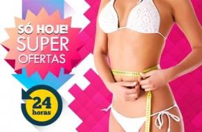 Super 24 Horas: Tratamento Especial para Acabar com a Gordura Localizada com 2 Sessões de Criolipólise, por apenas R$198,00 em 3 vezes Sem Juros