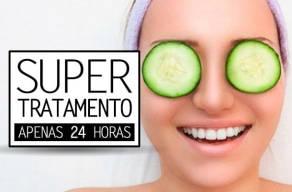 Super Tratamento para Olheiras com 4 Sessões de Carbox + Máscara Clareadora em 3 Vezes Sem Juros