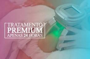 Premium: 3 Sessões de Criolipólise - A máquina que Congela e Elimina em até 30% a gordura localizada por R$289