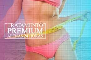 Premium: 8 Sessões de Lipocavitação, Hidrolipo, Criolipo, Termolipo, Modeladora, Drenagem, Rolo Lipolítico e Endermologia em 3 Vezes Sem Juros
