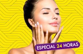 Super Procedimentos Facial: 2 Sessões de Limpeza de Pele + Peeling de Micro-Cristal + Máscara Revitalizante