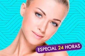 Especial Facial: Limpeza de Pele + Peeling de Cristal + Hidratação com Argila em 3 Vezes Sem Juros