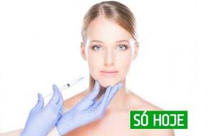 Imperdível: 10ui de Toxina Botulínica na testa, região dos olhos e glabela na Saúde em 3 Vezes Sem Juros