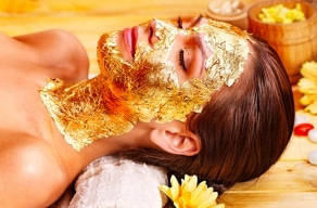 Imperdível: 1 Sessão de Máscara de Folha de Ouro + Máscara de Ouro por apenas R$69