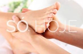 2 Sessões De Hidratação Profunda Para As Mãos E Pés + Massagem Relaxante Local