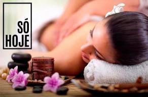 Combo Day Spa: Massagem Relaxante + Banho de Ofurô + Hidratação + Escova + Manicure + Pedicure