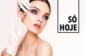 Imperdível: Toxina Botulínica na Área Dos Olhos + Glabela + Testa em 3 Vezes Sem Juros